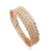 Bracelet Gold Plated - Swarovski crystals